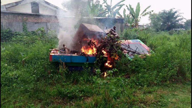 Mesin Judi Tembak Ikan Dibakar, Ini Penyebabnya